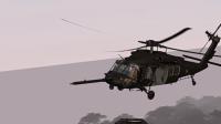 Oscar1と編隊飛行をするOscar2